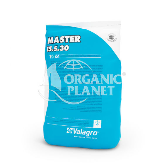 Master (Мастер), Мінеральне добриво, 10 кг, NPK 15-5-30, Valagro