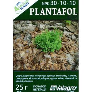 Plantafol (Плантафол), Мінеральне добриво, 25 г, NPK 30-10-10, Valagro
