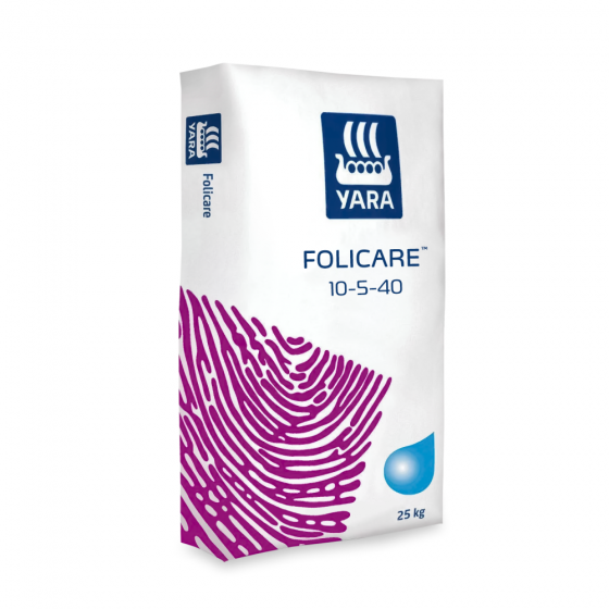 Folicare (Фолікер), NPK 10-5-40 + micro, 25 кг, Yara (Яру)